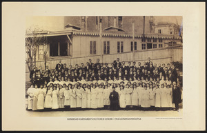 Gomidas Vartabed's 312 Voice Choir - 1914 Constantinople