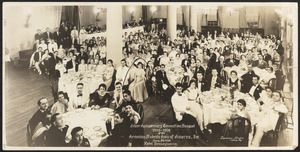 Silver anniversary convention banquet 1909-1934 of the Armenian Students Assn of America, Inc.