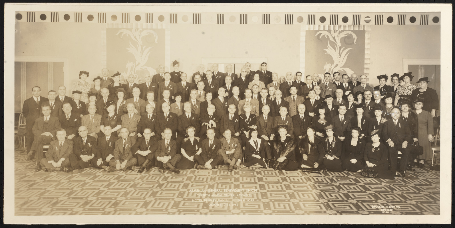 Armenian General Benevolent Union, thirtieth annual general assembly