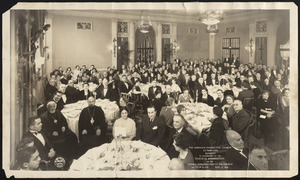 The Armenian Evangelical Church of New York banquet in celebration of the fortieth anniversary of the formal organization of the church