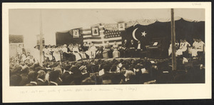 1914: 50th year jubilee of Anatolia Girls' School in Marsovan, Turkey (stage)