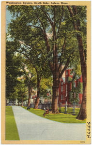 Washington Square, South Side, Salem, Mass.