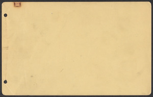 Sacco-Vanzetti Case Records, 1920-1928. Defense Papers. Jury List: Adams-Dyer, n.d. Box 3, Folder 9, Harvard Law School Library, Historical & Special Collections