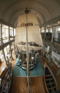 """Whaling Museum: Whale ship """"Lagoda"""" replica, New Bedford"""