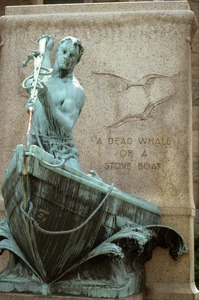 Whaler's monument, New Bedford