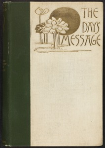 The day's message [Front cover]