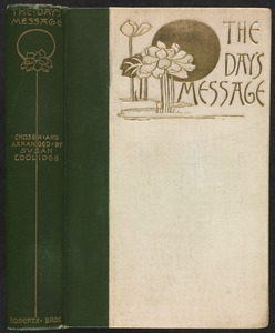 The day's message [Spine and front cover]