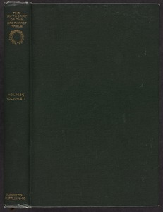 The autocrat of the breakfast-table [Spine and front cover]