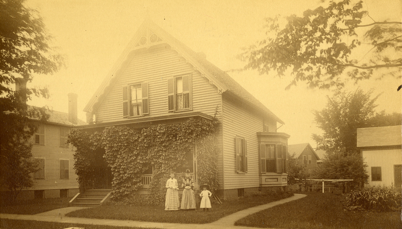 Residence of Charles Eugene Monroe and Ida Cook Monroe 31 Hartwell Street Southbridge Massachusetts