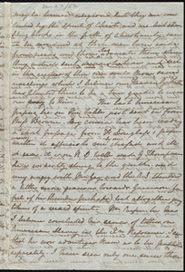 Partial letter from Emma Michell to Maria Weston Chapman, [1852 Jan.?]