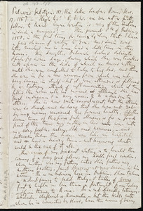 Letter from Richard Davis Webb, [Dublin?, Ireland], to Anne Warren Weston, 8th[-12th] of February 1858