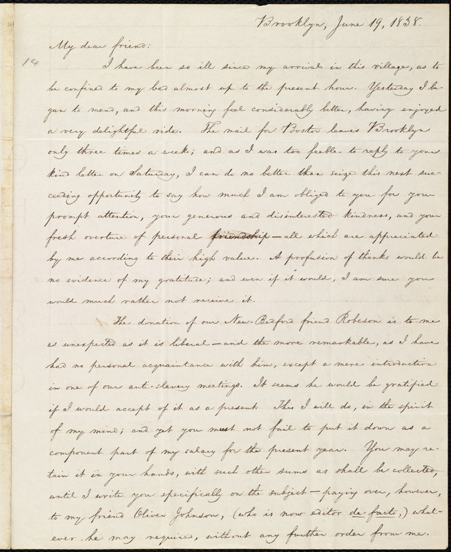 the open letter from william lloyd garrison to the public