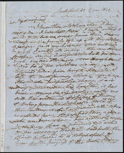 Letter from Esther Sturge, Northfleet, [England], to Maria Weston Chapman, 30 [day] 5 mo[nth] 1849