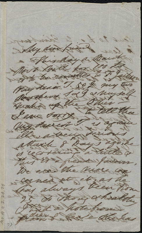 Letter from Esther Sturge, Northfleet, [England], to Maria Weston Chapman, 29 [day] 6 mo[nth] 1849