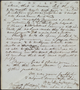 Fragment of letter from William Lloyd Garrison, [New York?], July 19th, 1845