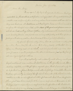 Copy of letter from William Lloyd Garrison, Boston, [Mass.], to Samuel May, June 17, 1864