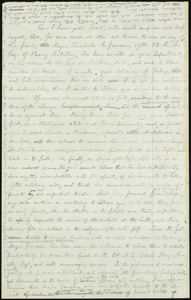 Rough draft of letter from William Lloyd Garrison, [1865?]