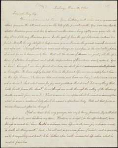 Copy of letter from William Lloyd Garrison, Roxbury, [Mass.], to Samuel May, Dec. 10, 1865