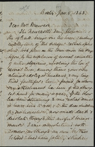 Copy of letter from William Lloyd Garrison, Boston, [Mass.], to Elizabeth Swan Mawson, Jan. 5, 1868