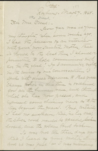 Letter from William Lloyd Garrison, Roxbury, [Mass.], to Anna Loring Dresel, May 27, 1868