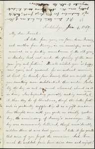 Letter from William Lloyd Garrison, Rockledge, to Francis Jackson Garrison, Jan. 4, 1867