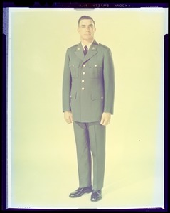 Army green uniform for enlisted men