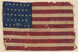 34-star American Flag, ca. 1862
