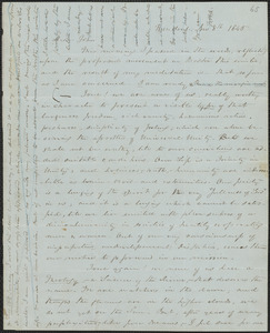John Sullivan Dwight correspondence regarding Brook Farm, 1840-1848