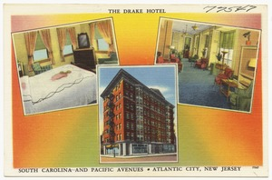 The Drake Hotel, South Carolina and Pacific Avenues, Atlantic City, New Jersey