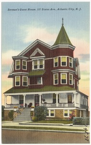 Serman's Guest House, 157 States Ave., Atlantic City, N. J.