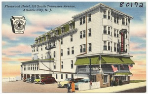 Fleetwood Hotel, 152 South Tennessee Avenue, Atlantic City, N. J.