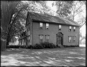 Reverend John Williams House, Albany Road, Old Deerfield, Mass.
