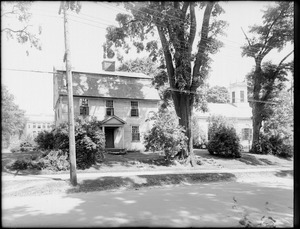 Left side of Nims House, Main Street, Old Deerfield, Mass.
