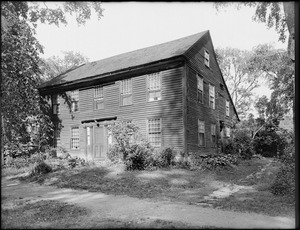 Beaman-Allen House, Main Street, Old Deerfield, Mass.
