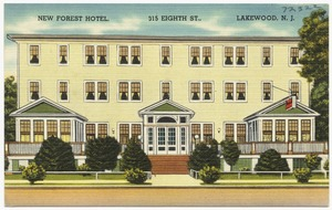 New Forest Hotel, 315 Eighth St., Lakewood, N. J.