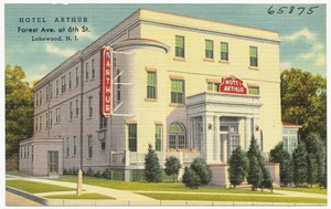 Hotel Arthur, Forest Ave. at 6th St., Lakewood, N. J.