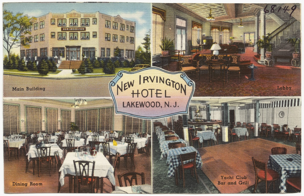 New Irvington Hotel Lakewood N J