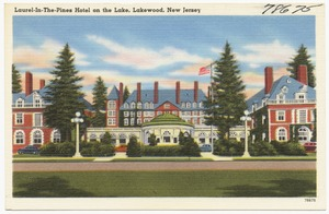 Laurel-in-the-Pines Hotel on the Lake, Lakewood, New Jersey