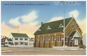 Church of St. Bonaventure and Rectory, Lavallette, N. J.