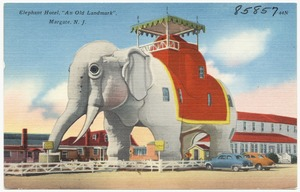 "Elephant Hotel, ""An Old Landmark"", Margate, N. J."
