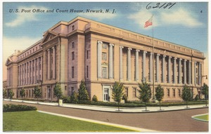 U. S. Post Office and court house, Newark, N. J.