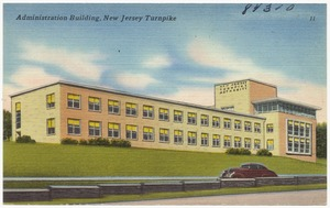 Administration building, New Jersey Turnpike