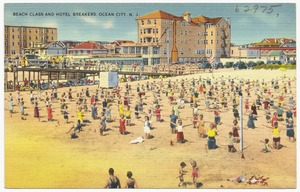 Beach class and Hotel Breakers, Ocean City, N. J.