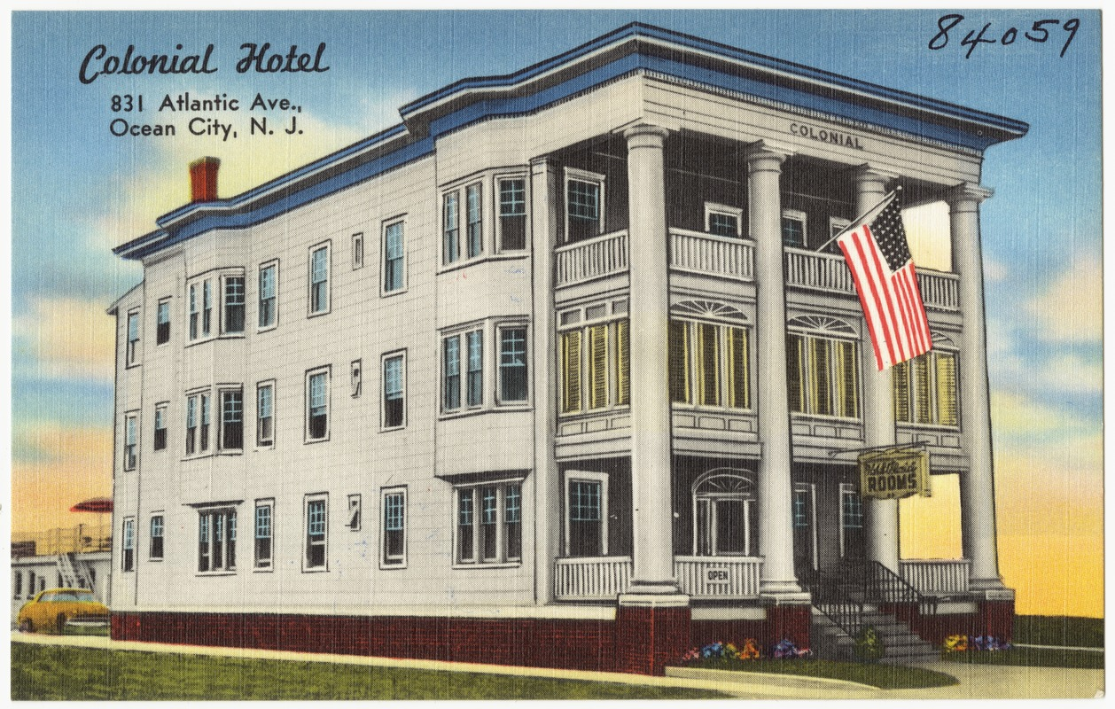 Colonial Hotel 831 Atlantic Ave Ocean City N J