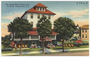 The Luray Hotel, Wesley Ave. at 7th St., Ocean City, N. J.