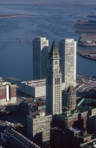 Harbor Towers and Customs House, Boston