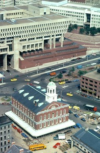 City Hall and Faneuil Hall, Boston