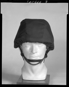 Body armor, face shield, front view