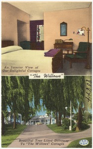 """The Willows"" Hotel, Restaurant, and Cottages, 5 miles east of Lancaster, Penna on U.S. #30"