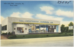 The Constructo Products Co., 1476 Lititz Pike, Lancaster, Pa.